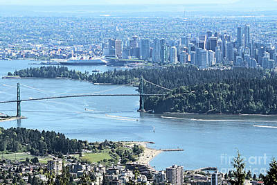 Coal Harbour Poster by Victor K