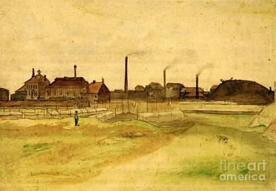 Coalmine In The Borinage Poster