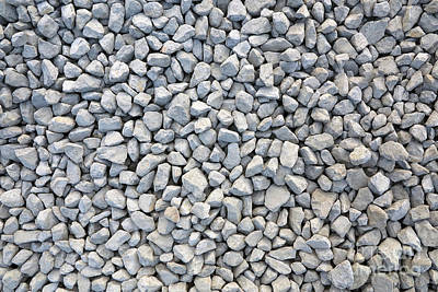 Coarse Gravel - Stone Texture Poster by Michal Boubin