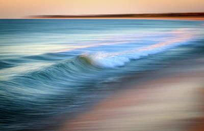 Coastal Ocean Wave Poster