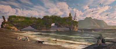 Coastal Paradise Poster