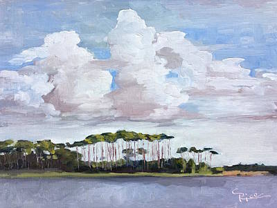 Coastal Serenity Poster
