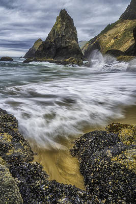 Coastal Wash Poster by Darren  White