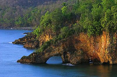 Coastline-ciceron- St Lucia Poster