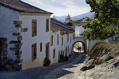 cobbled street Marvao Poster by Mikehoward Photography