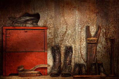 Cobbler - The Shoe Shiner 1900  Poster