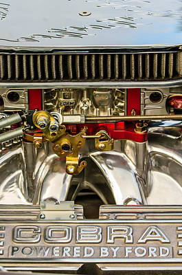 Cobra Engine Poster by Jill Reger
