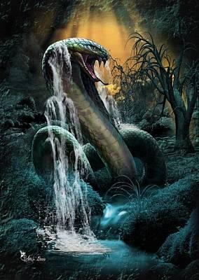 Cobra Falls Poster