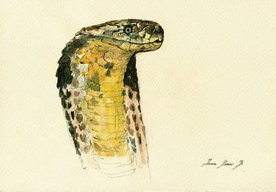 Cobra Snake Poster Poster
