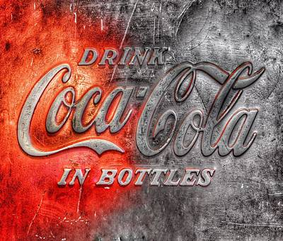 Poster featuring the photograph Coca Cola by Marianna Mills