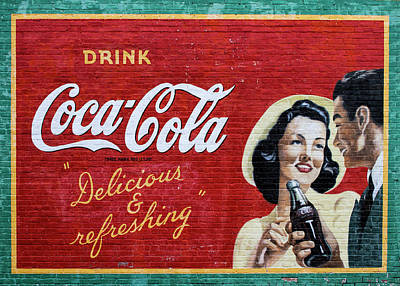 Coca-cola Mural Poster by Mark Chandler