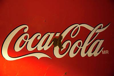 Coca-cola Sign  Poster by Toni Hopper
