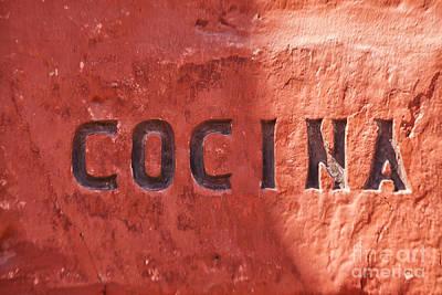 Cocina Poster