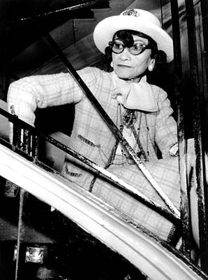 Coco Chanel, Watching Her 1969 Poster by Everett