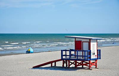 Cocoa Beach - Life Guard Shack - Florida Poster