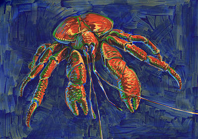 Coconut Crab Poster