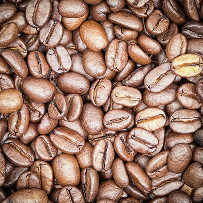 Coffee Beans Poster by Wim Lanclus