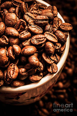 Coffee Cup Top Up Poster by Jorgo Photography - Wall Art Gallery
