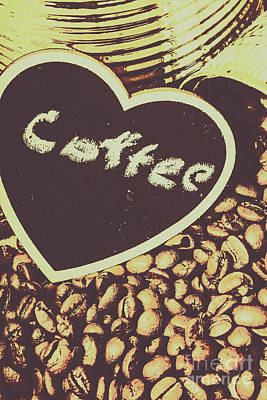 Coffee Heart Poster by Jorgo Photography - Wall Art Gallery