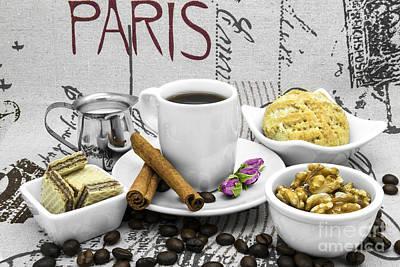 Coffee Still Life Poster