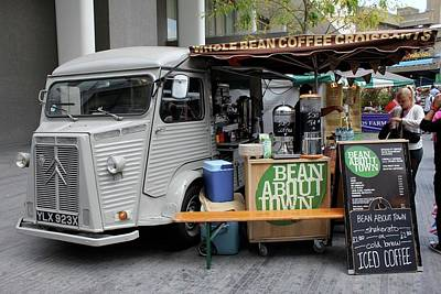 Poster featuring the photograph Coffee Truck by Christin Brodie