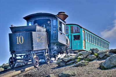 Cog Train Mount Washington Poster by Jim Proctor