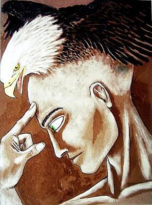 Cogito Ergo Sum Poster by Paulo Zerbato