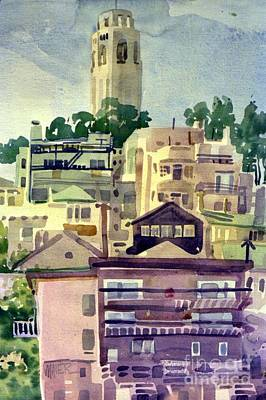Coit Tower Poster by Donald Maier