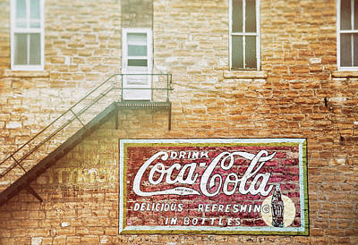 Poster featuring the photograph Coke Classic by Darren White