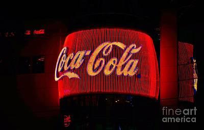 Coke - Las Vegas Poster by Craig Wood