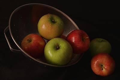 Colander Apples II Poster