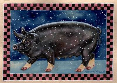 Cold Bacon Poster by Beth Clark-McDonal