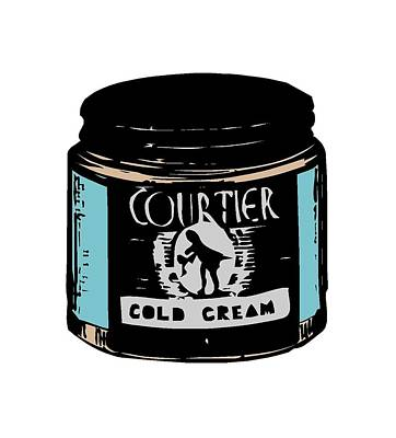 Poster featuring the digital art Cold Cream by ReInVintaged