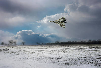 Poster featuring the photograph Cold War Warrior by Gary Eason