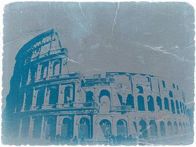 Coliseum Poster by Naxart Studio
