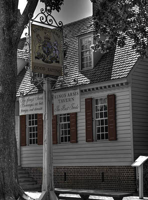 Colonial Williamsburg  V5 Poster by John Straton