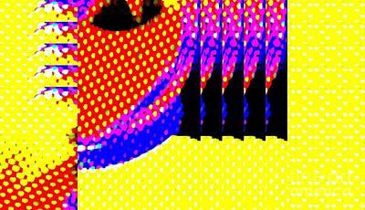 Color Explosion Poster by Paulo Guimaraes