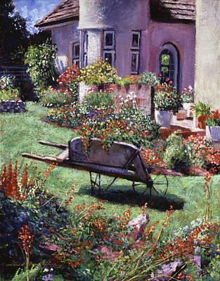 Color Garden  Poster by David Lloyd Glover