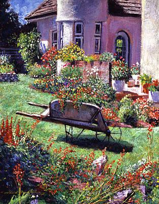 Color Garden Impression Poster by David Lloyd Glover