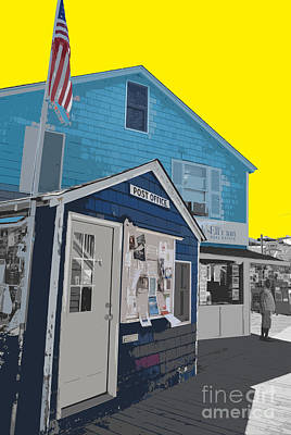 Color Of Cherry Grove Poster by Jost Houk