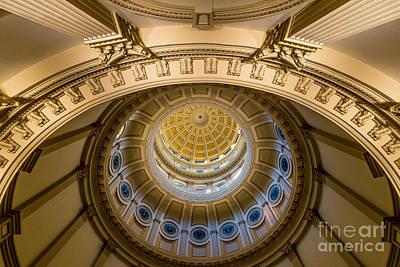 Colorado Capitol Building Rotunda 3 - Denver Poster