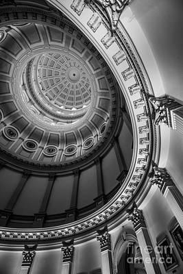 Colorado Capitol Building Rotunda 4 - Denver Poster