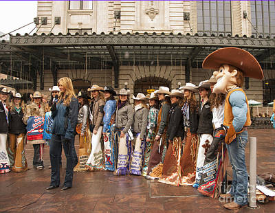 Colorado Cowgirl Beauties Poster