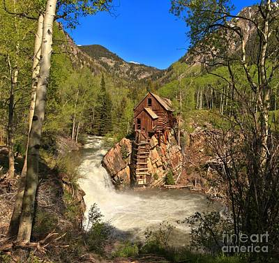 Colorado Crystal Mill Poster by Adam Jewell