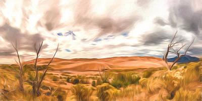 Colorado Dunes Poster