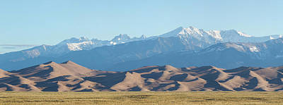 Colorado Great Sand Dunes Panorama Pt 1 Poster by James BO Insogna