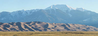 Colorado Great Sand Dunes Panorama Pt 2 Poster by James BO Insogna