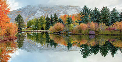 Colorado In The Fall - Panoramic Poster by Gregory Ballos