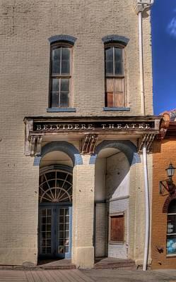 Belvidere Theatre Poster