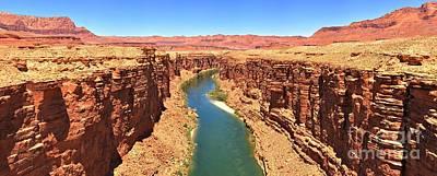 Colorado River Desert Landscape Poster